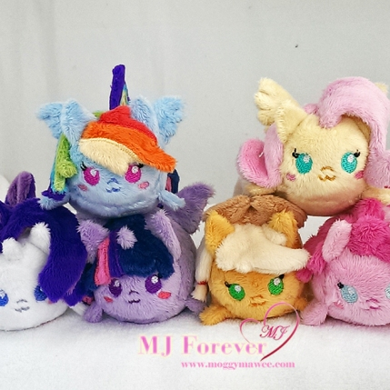 Tsum mane 6 sewn by meeee!!!!!