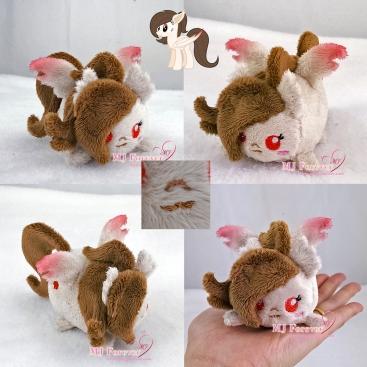 Rose Petal (OC) tsum plushie sewn by meee!!!!!