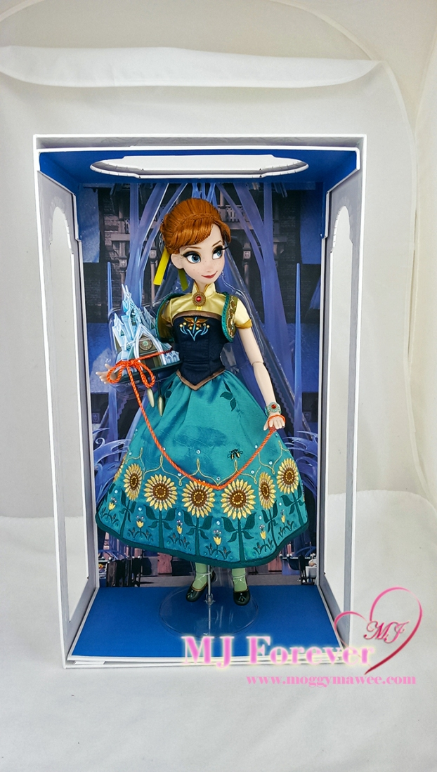 "17"" Anna Frozen Fever Limited Edition doll. LE 5000"