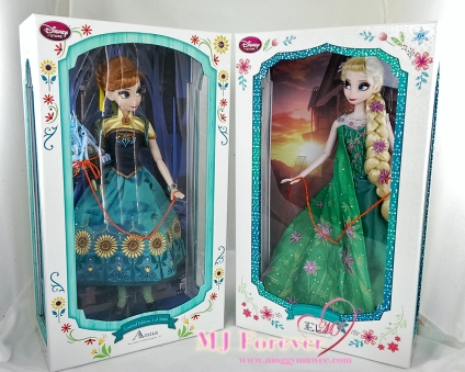 "17"" Anna and Elsa Frozen Fever Limited Edition doll. LE 5000"