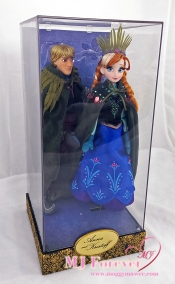 DFDC Anna and Kristoff dolls, LE 6000
