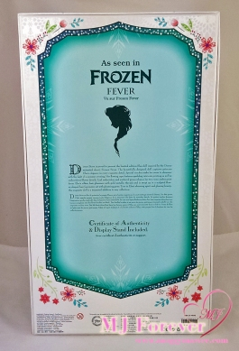 "17"" Elsa Frozen Fever Limited Edition doll. LE 5000"