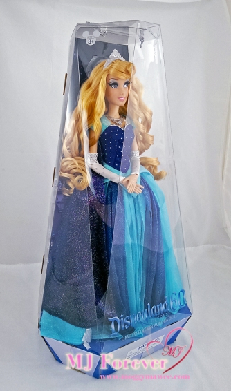 Disneyland Resort's 60th anniversary Aurora doll. LE 3000.