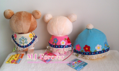 Bohemian Rilakkuma plush set (keeping)