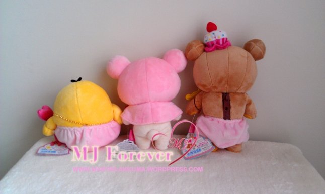 Candy Sweets Rilakkuma plush set (keeping)