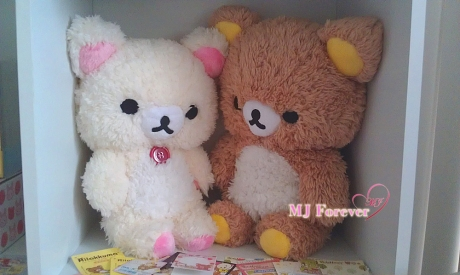 Furry Rilakkuma plush set (keeping)