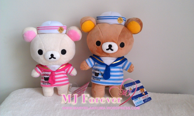 Marine Rilakkuma plush set (keeping)