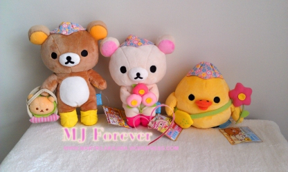 Happy Picnic Rilakkuma plush set (keeping)