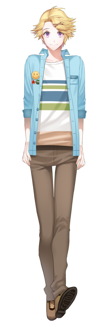 Yoosung Kim from Mystic Messenger (official Cheritz art)
