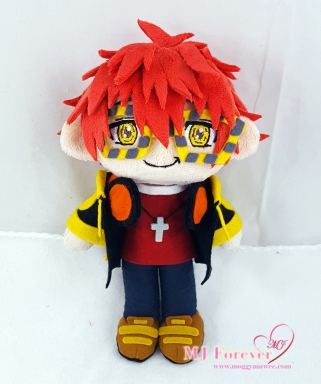 707/Seven/Luciel/Saeyoung plush sewn by meeee!!!