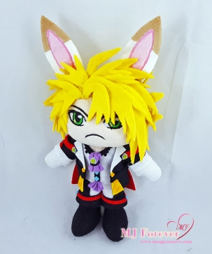 Jiwoo plush sewn by meee!!!!